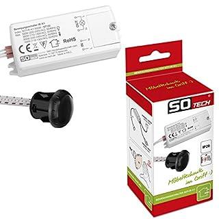 SO-TECH® Mini-Sensor Bewegungsmelder schaltet durch Handbewegung