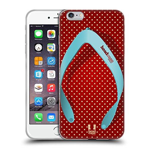 Head Case Designs Pattern Margherite Strisce Floreali Fashion Cover Morbida In Gel Per Apple iPhone 7 Plus / 8 Plus Punti