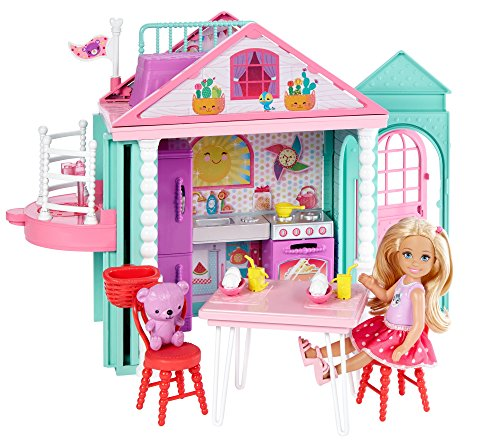 Barbie - Casita de Chelsea con Accesorios (Mattel DWJ50)