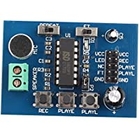 HALJIA ISD1820 Sound Board Voice Recording and Playback Module 3~5V for Arduino