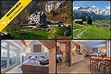Reiseschein - 3 Tage Schweiz in der Suite des Hotel Wetterhorn in Hasliberg - Hotelgutschein Gutschein Kurzreise Kurzurlaub Reise Geschenk