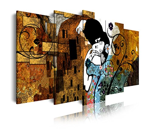 DekoArte 275 - Cuadro moderno lienzo 5 piezas XXL