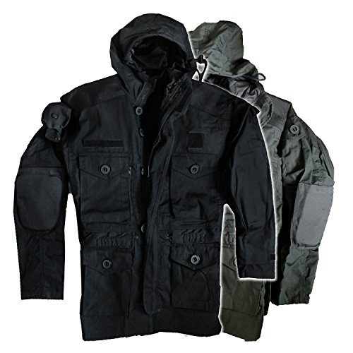 Outdoorjacke 'Smock Light weight' (XXL, schwarz)