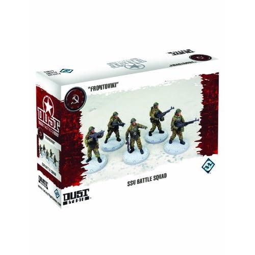 Dust Tactics: Ssu Nkvd Battle Squad Miniatures