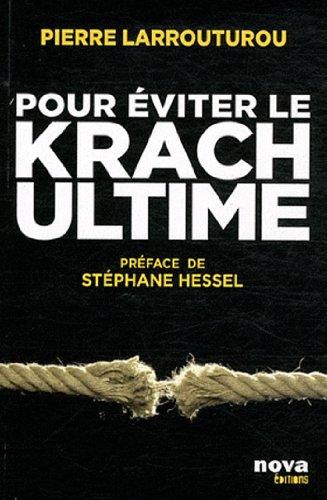 Pour eviter le Krach ultime - Pierre Larrouturou