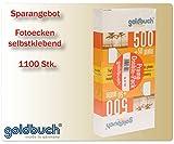 Fotokleber Fotoecken selbstklebend 2x 500 + 100 gratis Klebeecken Foto Ecken