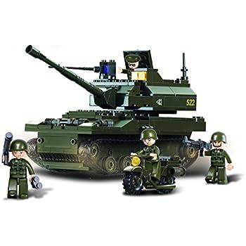 Sluban M38-B9800 - modulari - Esercito - Serbatoi