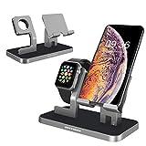BENTOBEN iPhone XS Dock, iPhone iWatch Ladestation, Handy Halterung Ständer, iPhone Docking Station für iPhone XS Max