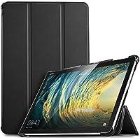"IVSO Huawei MediaPad M5 Lite 10 Funda Case Cover, Slim Smart PU Plegable Stand Cover Case Funda Protectora Carcasa para Huawei MediaPad M5 Lite 10.1"" Tableta (Negro)"
