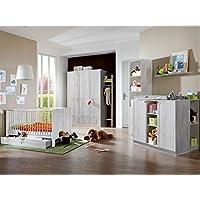 Preisvergleich für Babyzimmer Filou komplett Sets verschiedene Ausführungen … (Babyzimmer Filou 8-teilig, Weißeiche)