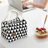 Pasabideak Boîtes à lunch pour vous mode portable pratique isolé thermique fourre-tout pique-nique déjeuner cool sac glacière sac à main sac à main