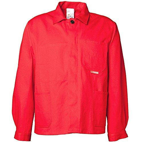 Planham 103024 medio-Giacca da lavoro, colore: rosso, Rosso, 103052