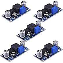 5 Pack Boost Converter Module XL6009 DC to DC 3.0-30 V to 5-35 V Output Voltage Adjustable Step-up Circuit Board