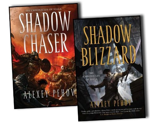 Portada del libro Alexey Pehov The Chronicles of Siala 2 Books Collection Pack Set RRP: £25.98 Shadow Chaser
