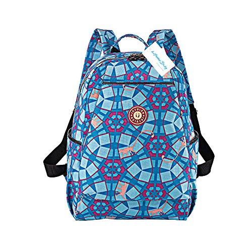 Preisvergleich Produktbild Spritzwassergeschützte Baby Still Wickelrucksack groß Mummy Wickeltasche Laptop Bag + Windel Pad + Wickeltasche + Kinderwagen Haken Kleiderbügel blau blau