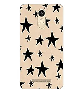 PrintDhaba Stars Design D-1451 Back Case Cover for XIAOMI REDMI NOTE 3 (Multi-Coloured)