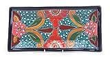 Mexikanische Handwerkskunst: Servierplatte eckig