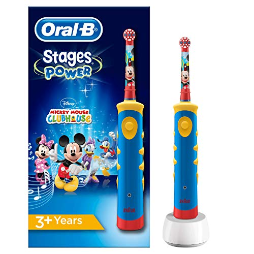3015983f75 Oral-B Stages Power Kids de Mickey Mouse Cepillo de Dientes Eléctrico Power  Kids de