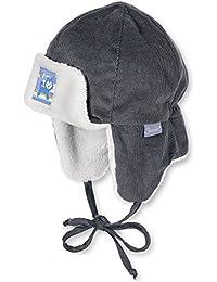 Sterntaler Baby Winter-Fliegermütze Cord graphit