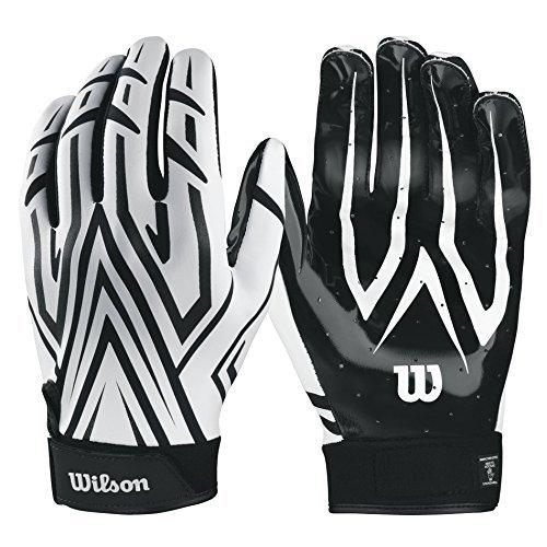 Wilson The Clutch Skill American Football Receiver Handschuhe - weiß Gr. M