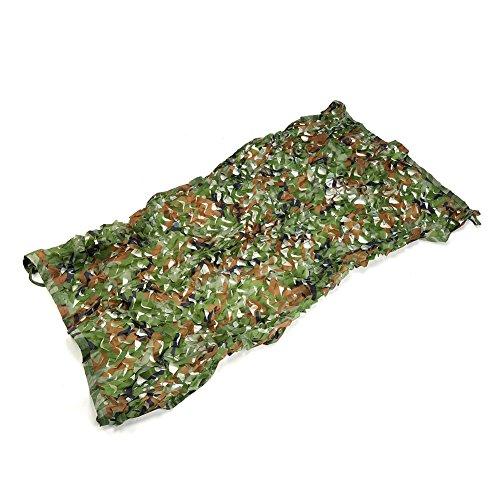 Yosoo Camouflage Netz Tarnnetz Tarnungszubehör für Sonnenschutz Jagd Outdoor Home Deko (2mx3m)