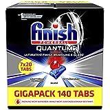 Finish Quantum Ultimate Gigapack Spülmaschinentabs, Regular, 140 Stück