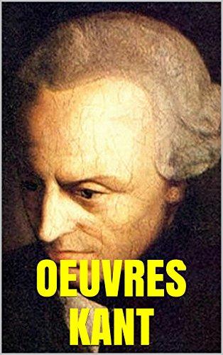 ŒUVRES DE KANT: Critique de la raison pure. Critique du jugement. Ecc.. par Emmanuel Kant