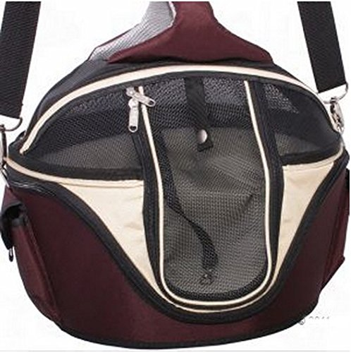 Elegant Innovative Round Hard Case Carrier Bag - Has A Variety Of Different Functions - Ideal For Large Cats & Small… 1