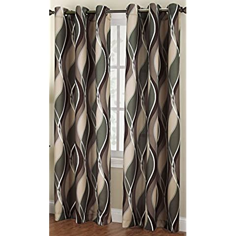 No. 918 Intersect Curtain Panel, 48 by