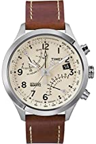 Timex Herren-Armbanduhr XL IQ Fly-Back Chronograph T2N932D7