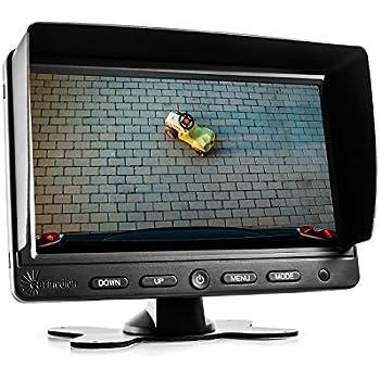carmedien 7 zoll tft lcd monitor cm nmr7 bildschirm f r. Black Bedroom Furniture Sets. Home Design Ideas