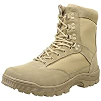 Mil-Tec Tactical Boat with YKK zipper, combat boots, trekking shoes, hiking shoes, various styles