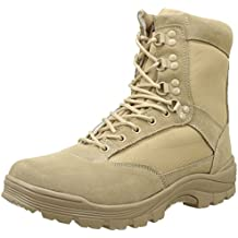 Mil-Tec Tactical Side Zip Botas Khaki tamaño 9 UK ...