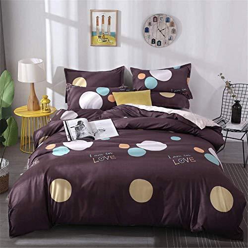 3-teiliges Leder-bett (HeiPlaine Atmungsaktiver Kissenbezug, geometrische Bettwäsche, Kissenbezug mit weihnachtlichem Druck aus Polyester für Schlafzimmer Daybed 3-teilig, B Königin für Stühle. Queen B)