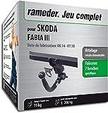 Rameder Attelage rotule démontable pour Skoda Fabia III + Faisceau 7 Broches...