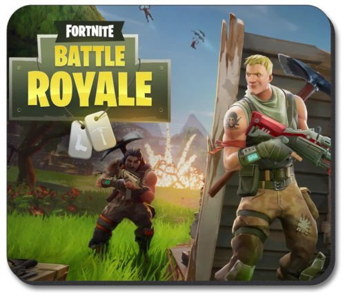 Fortnite Battle Royale - Alfombrilla para ratón Alfombrilla de ratón de Goma Gruesa de Alta Calidad con Acabado Suave al Tacto.