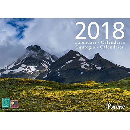 Calendario Pyrene 2018. editorial Alpina.