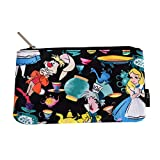Alicia en el Bolso de Maquillaje Wonderland Tea Time Loungefly 20.5x12cm Negro Multicolor