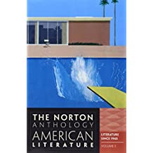 Norton Anthology of American Literature 8e V2 C, D  & E Package UK Edition