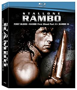 Rambo 1-3  [US Import] [Blu-ray] [Region A]