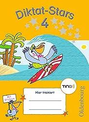 Diktat-Stars - TING-Ausgabe: 4. Schuljahr - Übungsheft: Mit Lösungen