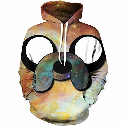 Moletom 3D Print Color Blocks Men Hoodies With Hat Thin Tops Harajuku Graphic Casual Sweatshirts Hoodies Plus Size XL