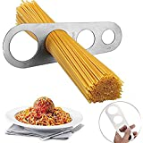 LVEDU Fideos Cantidad Medida Medida de Espaguetis Pasta Porción Control de Acero Inoxidable Utensilios de Cocina