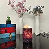Lampe à sel cristal Lampe à ions négatifs LED...