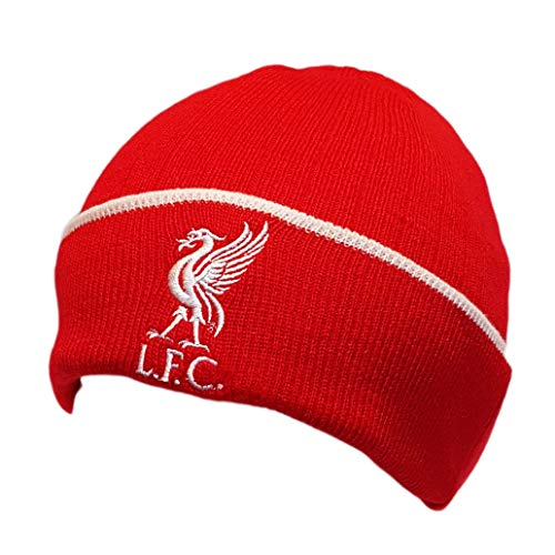 aaf14100561 Liverpool Fc Official Hat (Bronx Red With White Rim)