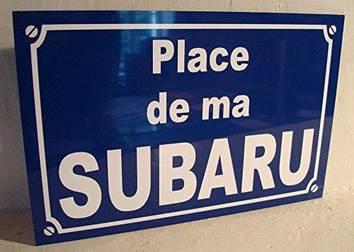 subaru-plaque-de-rue-creation-collector-edition-limitee-cadeau-original