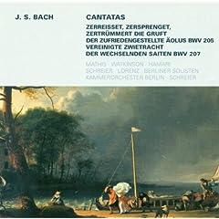 Der zufriedengestellte Aolus: Zerreisset, serprenget, zertrummert die Gruft, BWV 205: Aria: Angenehmer Zephyrus (Soprano)
