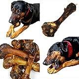 12 Hundeknochen vom Schwein mit Fleisch Kauknochen (12er-Pack) SKF-12
