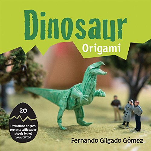 Dinosaur Origami: 20 prehistoric origami projects with paper sheets to get you started por Fernando Gilgado Gomez