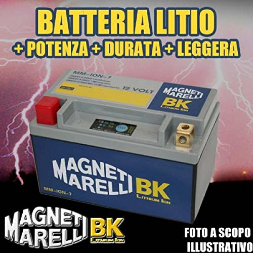 DMLIT10 BATTERIA LITIO MAGNETI MARELLI YTX14-BS YTX14BS - MOTO SCOOTER QUAD CROSS